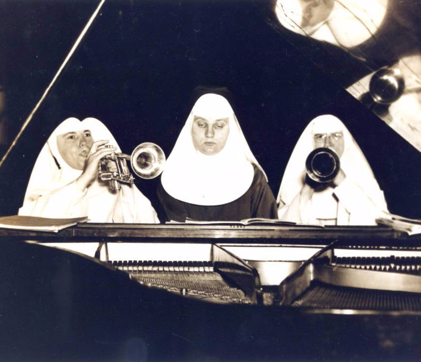Nuns at the Piano