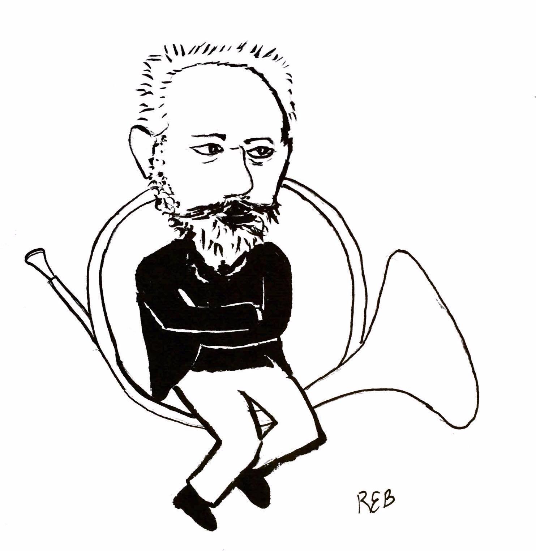 Tchaikovsky in a Horn